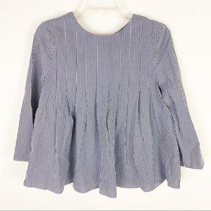 NWT English Factory tie back peplum blouse
